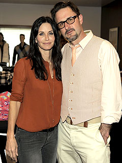 David Arquette Not Mad Courteney Cox Vacationed with Cougar Town's Josh Hopkins