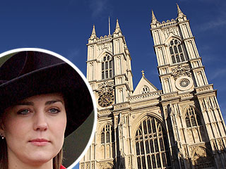 Kate Middleton Visits Westminster Abbey – for Wedding Site?