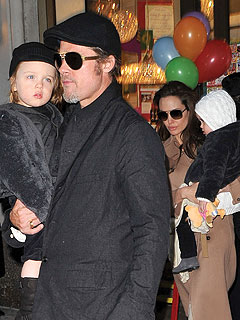 Brad Pitt and Angelina Jolie Share a Memorable Meal in Paris