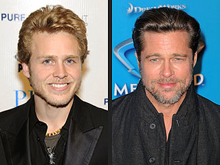Is Brad Pitt Taking Style Cues from Spencer Pratt?