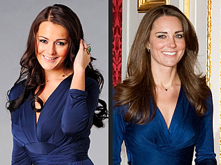 Kate Middleton Professional Lookalike Kate Bevan
