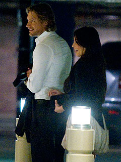 Kim Kardashian & Gabriel Aubry Take Their Romance to the Movies