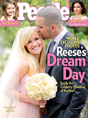 Reese Witherspoon's Wedding Photos