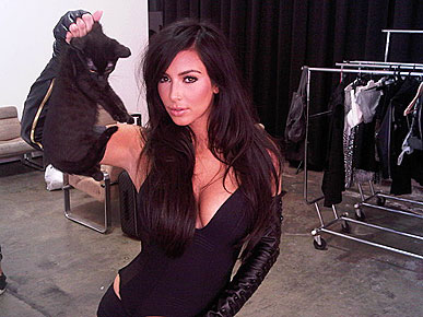 Kim Kardashian Explains Kitty Controversy