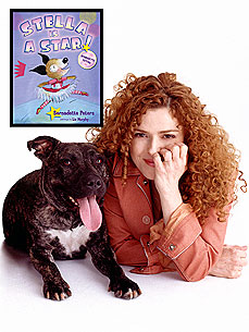 Bernadette Peters Shines Spotlight on Stella, Her Favorite Pit Bull