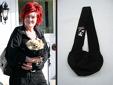 Get the Look: Sharon Osbourne's Doggie Sling