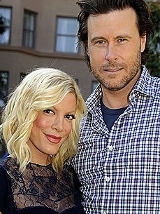 Tori Spelling: Our Dog Begs for Everything