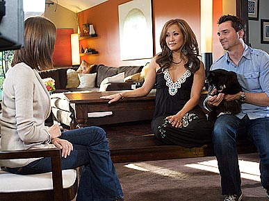 Carrie Ann Inaba Gets Her 5 Cats in Control with a 'Housecat Housecall'