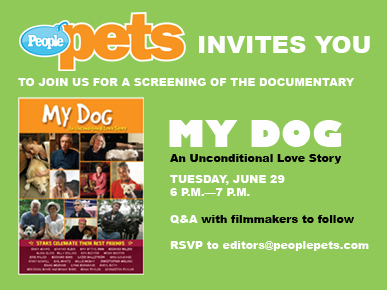 Join Us for a Special Screening of &#39;My Dog&#39;!