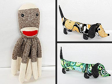 Etsy Fave: Socktopus and Wiener Dog to the Rescue!