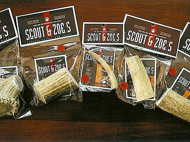 REVIEW: Chew on This – Scout & Zoe's Antlers Are Healthy, Long-lasting Treats