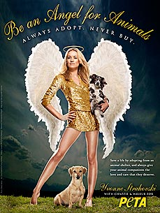 Actress Yvonne Strahovski Becomes an Angel for Animals