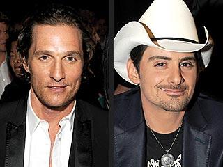 Brad Paisley Knocks Matthew McConaughey's Smooching Skills