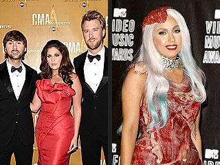 CMA Awards 2010: Brad Paisley's Lady Gaga/Lady Antebellum Joke