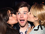 Stars Celebrate Summer Glee-dom! | Chris Colfer, Dianna Agron, Lea Michele