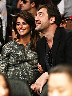 Penelope Cruz couple