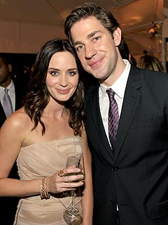 Emily Blunt & John Krasinski Cozy Up at N.Y.C. Gala