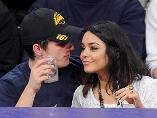 Vanessa Hudgens Shops for Shoes – and Romance? – with Josh Hutcherson