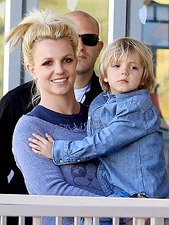 Britney Takes Her Boys Shopping in L.A.