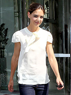 Celeb Sightings: Katie Holmes, Victoria Beckham, David Beckham, Jennifer Garner