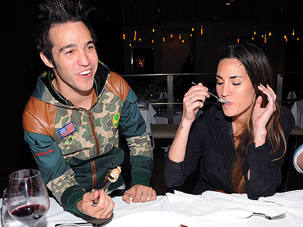 Pete Wentz Takes His New Girlfriend to Dinner in Vegas