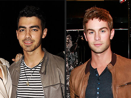 Joe Jonas & Chace Crawford Buddy Up in N.Y.C.
