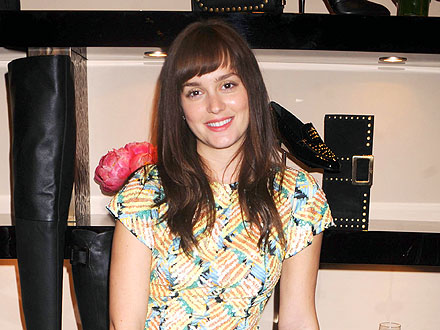Leighton Meester Hosts a Fashion-Forward Bash in N.Y.C.