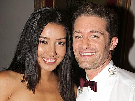 Glee's Matthew Morrison Watches His Girlfriend Walk the Runway