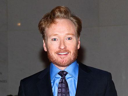 Conan O'Brien Celebrates N.Y.C. Return over Leisurely Dinner