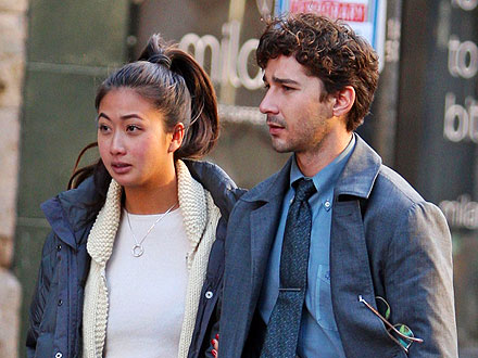 Shia LaBeouf's Lovely On-Set Visitor: His Girlfriend!