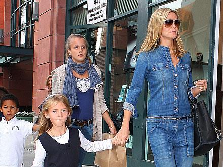 Heidi Klum's Cupcake-Fest with Her Kids