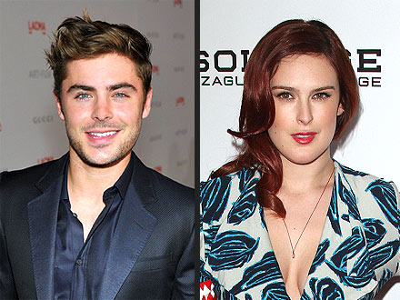 Zac Efron & Rumer Willis Hit the Club Together