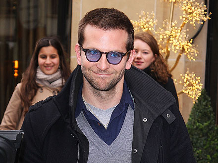 Bradley Cooper's All-American Meal in Paris