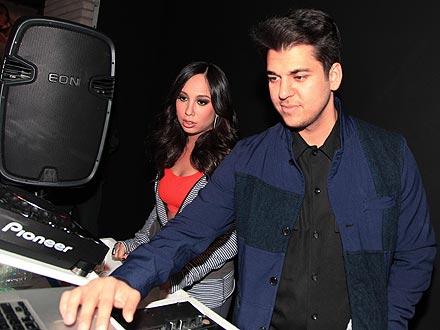 Rob Kardashian Reunites with Cheryl Burke for N.Y.C. Party
