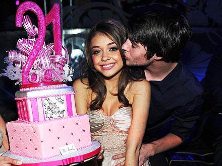 Modern Family's Sarah Hyland Turns 21 in Vegas!