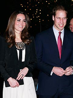 Prince William & Kate Middleton Attend First Official Event Since Engagement