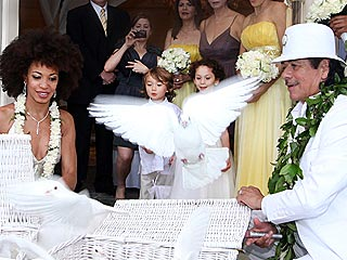 Carlos Santana Weds Drummer Cindy Blackman in Hawaii