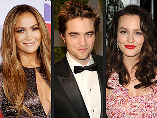 Golden Globes Presenters: Robert Pattinson, Leighton Meester
