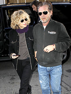 Meg Ryan and John Mellencamp Step Out in New York