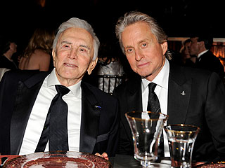 Kirk Douglas on Michael Douglas's Being Cancer-Free
