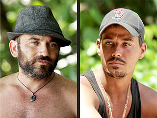 Survivor: Redemption Island Premiere - Rob Mariano and Russell Hantz