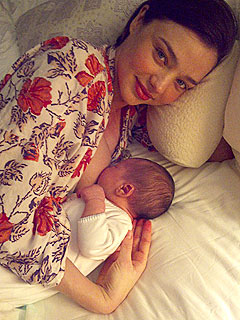 Miranda Kerr: I Had a Baby Boy with Orlando Bloom!