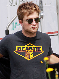 Robert Pattinson, Breaking Dawn Celebrity Sighting