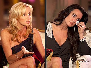 Camille Grammer Apologizes to Kyle Richards