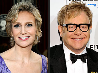 Glee: Elton John Welcome Says Jane Lynch