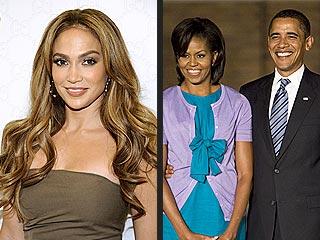 Jennifer Lopez Going to Obamas' Super Bowl Party