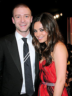Justin Timberlake and Mila Kunis Not Dating