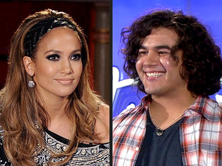 American Idol Top 24 2010 - Jennifer Lopez Cries for Chris Medina