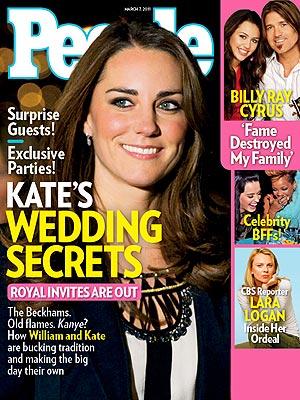 Kate Middleton, Prince William Wedding Secrets
