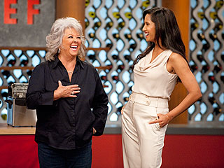 Top Chef Fries It Up for Paula Deen